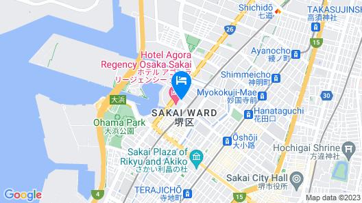 Hotel Agora Regency Osaka Sakai Map