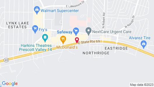 Super 8 by Wyndham Prescott Valley Map