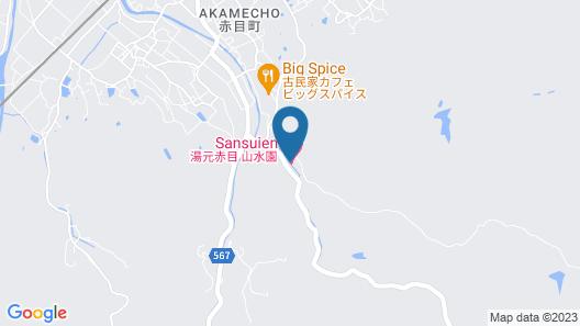 Akame Sansuien Map