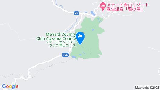 Menard Aoyama Resort Hotel Schönvert Map