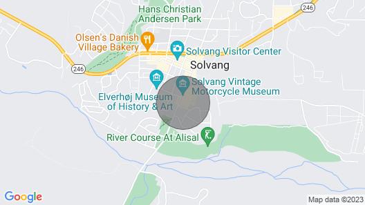 Visit the Breathtaking Santa Ynez Valley! Map