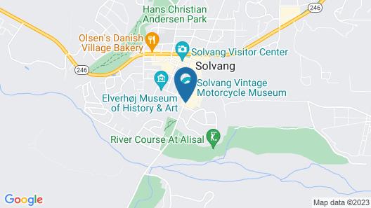 WorldMark Solvang Map