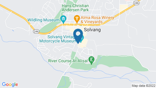 The M Solvang Map