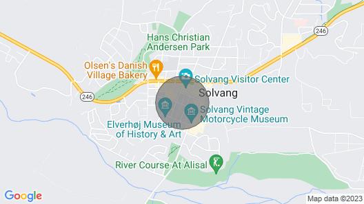 Mirabelle Inn and Restaurant Map