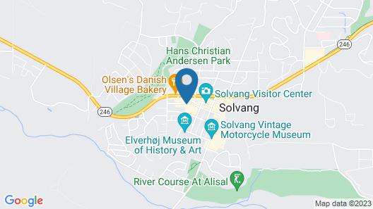 Wine Valley Inn Map