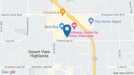 Element Palmdale Map