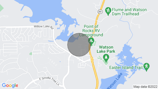 Close to Lakes and Downtown Map