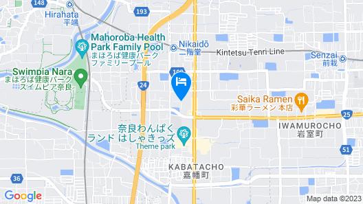 Grandvriohotel Nara -Wakura Map