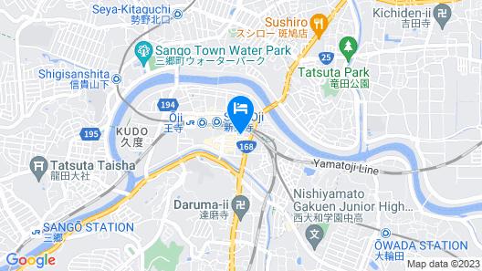 Toyoko Inn Nara Oji-eki Minami-guchi Map