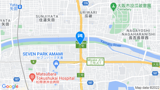 Hotel Que Sera Sera Hirano - Adults Only Map