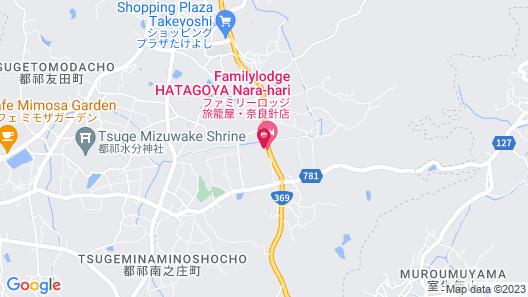 Family Lodge Hatagoya Narahari Map
