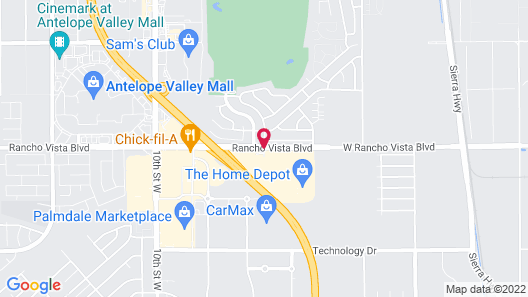 Residence Inn by Marriott Palmdale Map