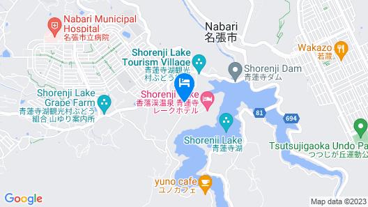 Shorenji Lake Hotel Map