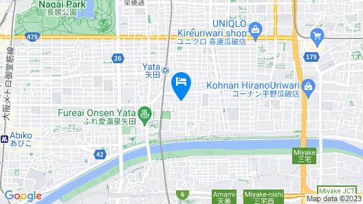 Osaka Kuma House Map