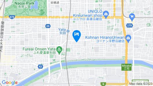 Traveltime-yata 101 Map