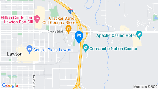 Holiday Inn Express Hotel & Suites Lawton-Fort Sill, an IHG Hotel Map