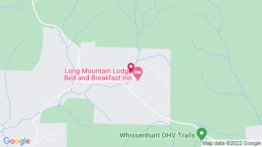 Long Mountain Lodge Map