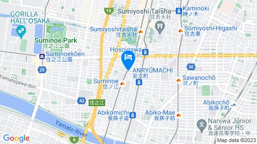 NOAH Japan Villa Map