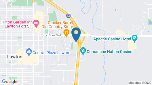 Comfort Suites Lawton Near Fort Sill Map