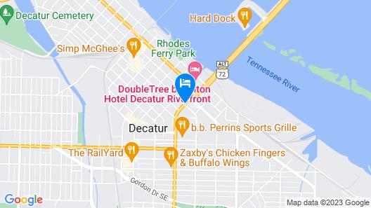 Motel 6 Decatur, AL Map