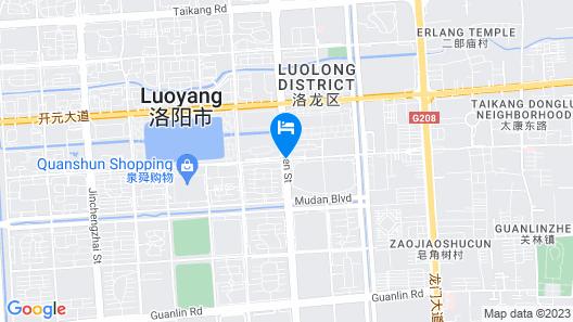 Luoyang Lidu Weike Hotel Map