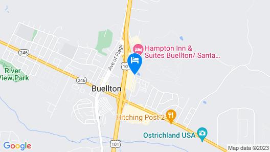 Santa Ynez Valley Marriott Map