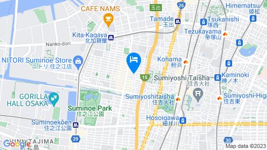 Higashi Kagaya Japanese Villa DJ Map