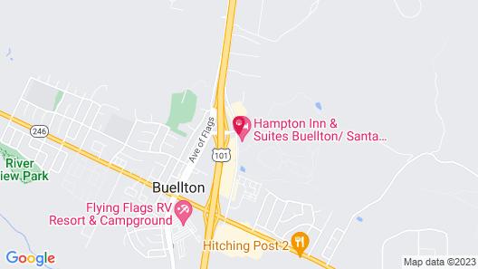 Hampton Inn & Suites Buellton/Santa Ynez Valley, CA Map