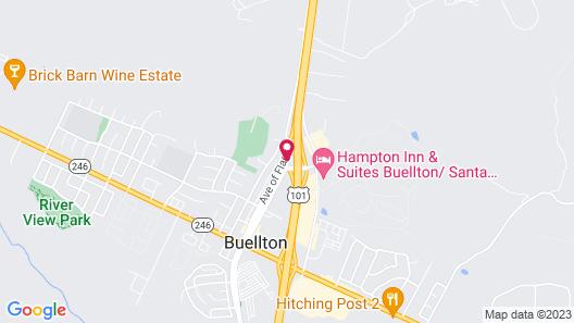Quality Inn Buellton - Solvang Map