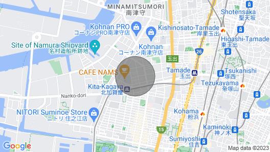 Guest House Kishinosato 3A / Osaka Osaka Map