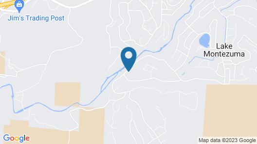 New! Refreshing Rimrock Escape Near Lake Montezuma Map