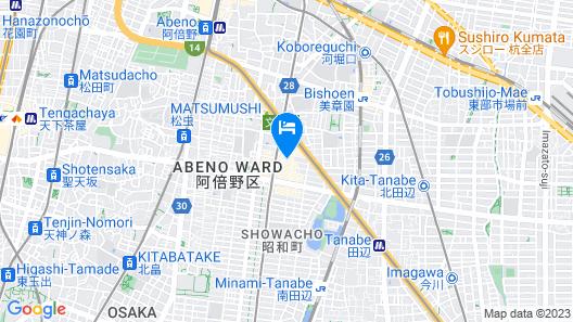 AFP Tennoji Apartment Map