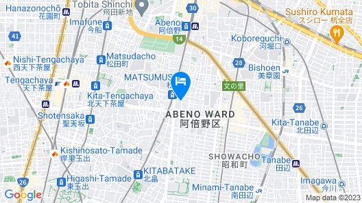 Mad Cat Hostel Osaka & Bar Map