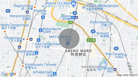 Osaka Tennoji Ward Reserved - Amor KJ / Osaka Osaka Map