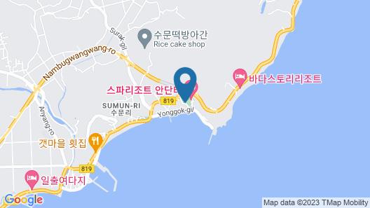 Andante Resort Map