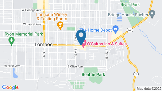 Red Roof Inn Lompoc Map