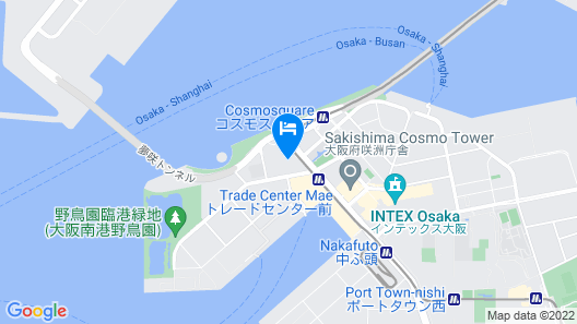 SAKISHIMA COSMO TOWER HOTEL Map