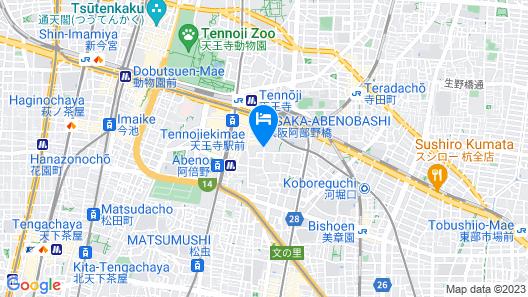 First Cabin Station Abenoso Map