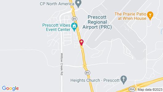 Antelope Hills Inn Map
