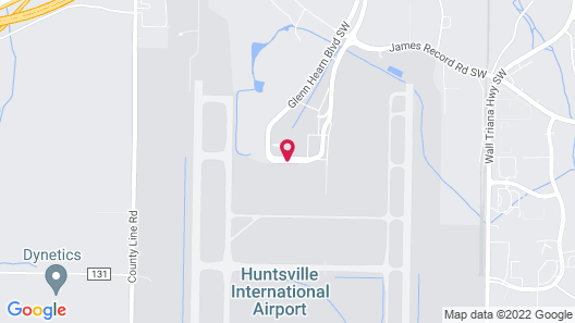 Four Points by Sheraton Huntsville Airport Map