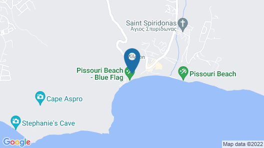Columbia Beach Resort Map
