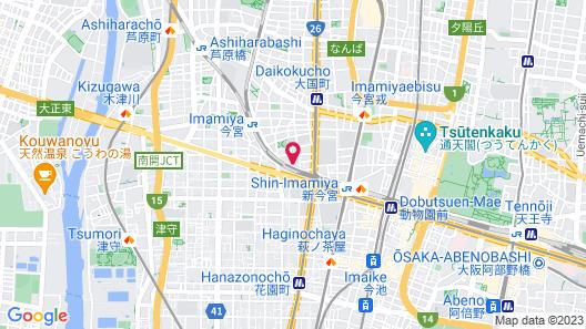 Namba Sunshine Apartment Map
