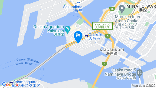 Universal Bay Condominium Map