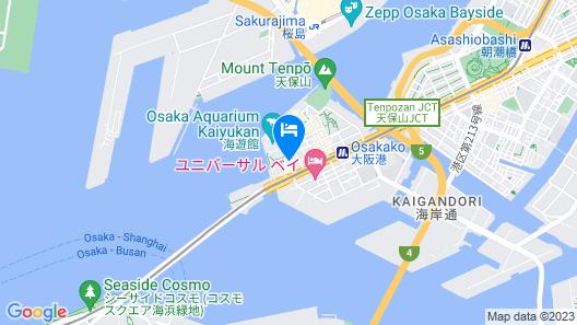 Hotel Seagull Tempozan Osaka Map