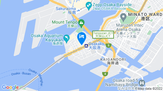 Osaka Tenpouzan-Apartment Map