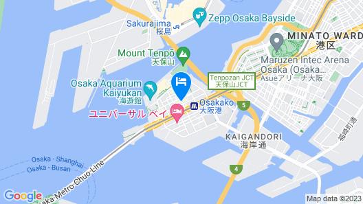 Yuyu Ukiyo Hotel Map