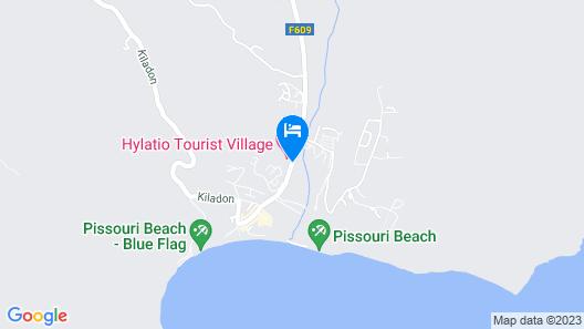 Hylatio Tourist Village Map