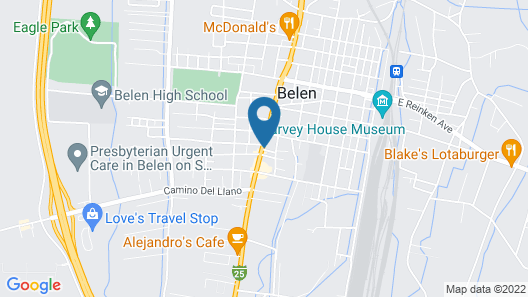 Super 8 by Wyndham Belen NM Map
