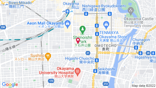 Sauna & Capsule In Okayama Map