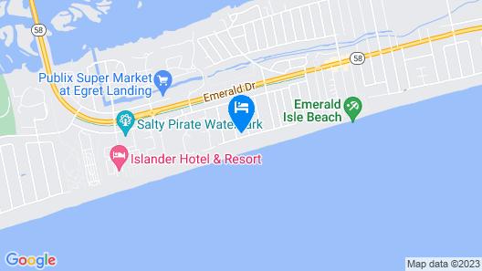 Ocean Views, Easy Beach Access, Private Pool, Sleeps 15, & pet Friendly Map